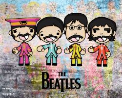 The Beatles by eggay