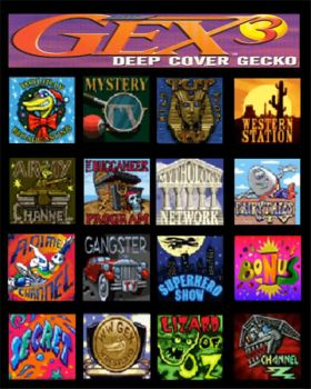Gex:Deep Cover Gecko- Channels by CesAMV