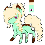 .:Mint Pony Adopt:. .:OPEN:. by Timbermutt