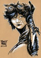 catwoman sketch by BrentMcKee