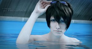 Free! // Haruka Nanase : I can only swim FREESTYLE by ElizabethMiraclis