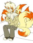 ninetails Gijinka by Caffinated-Pinecone