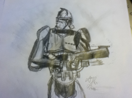clone trooper commander #1 by dman8870