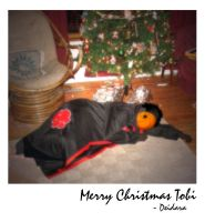 Tobi Christmas Polaroid by Midnight-Dark-Angel