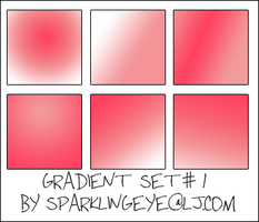Gradient Set 1 by sparkling-eye