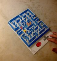 3D PACMAN by fedevigevani