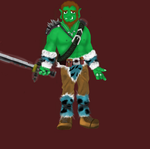 Orc night by HectorVrl