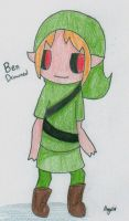 First Attempt at Ben Drowned by xAngeltheCatx