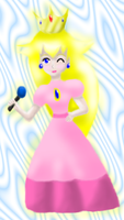 Peach Karaoke 3 by MikariStar