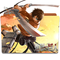 shingeki no kyojin folder icon by Dani5s4