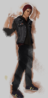 inFAMOUS Second Son: Delsin Rowe by TinkyWinkySky
