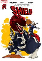 Agents of Shield by SeanMcFarland