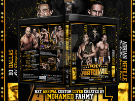 NXT arRIVAL Blu-ray Cover . by Mohamed-Fahmy