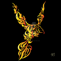 Pheonix Tat colored by ChupaCabraThing