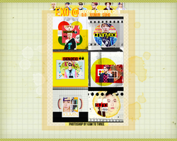 130727 Exo iconset for THREE by KFORWHAT