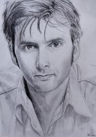 David Tennant by StokeTheRage