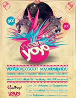 We are Yoyo Design Lab Flyer by folkensioner