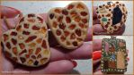 Pendants and rings - modeling clay, amber, mineral by MrsEfi