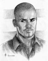 Derek Morgan by whiteshaix