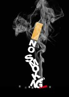 No smoking Poster 1 by Sempliok