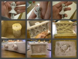 Clay Music Box - Unglazed/Unfinished by hatshere