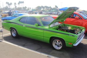 Lime Green Duster by DrivenByChaos