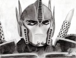 Optimus Prime - TFP again XD by MNS-Prime-21