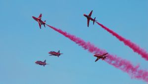 Red Arrows by RGAllanPhotography