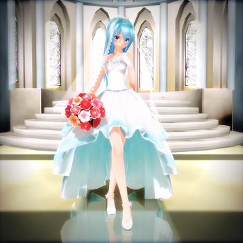 TDA Bride Miku 2.0 {DL} by HarukaSakurai