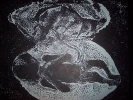 Baby Fetus Stipple by illcoveryouwjh