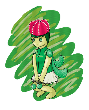 Keaw the Cactus by Technikos43
