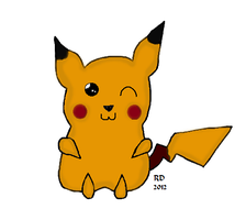 Request: Shiny Pikachu by Jolt11