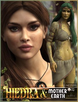EJ Hiedra and Mother Earth for Genesis 3 Female by emmaalvarez