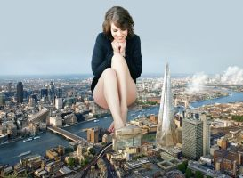 Lauren Cohan - Playing With London by docop