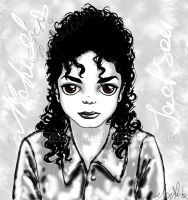 Michael sadness by MonMJ
