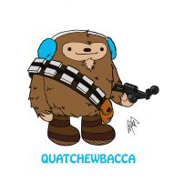 Quatchewbacca by peetietang