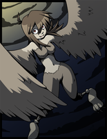 The Harpy by CubeWatermelon