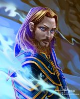 Warcraft: Anduin Lothar by Hassly