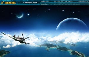 flying high - wallpaper pack by markpaulkk
