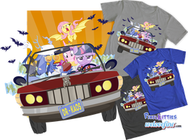 Bat Country Tee Shirt by PixelKitties
