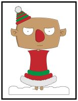 Angry the elf by dridgett
