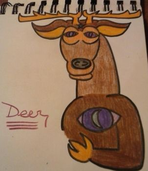 Night Vale Deer by missdragonlady