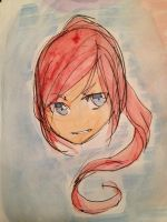 Watercolor doodle by ANIMEPRO465
