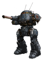 13th Donegal Guards Urbanmech by Viereth