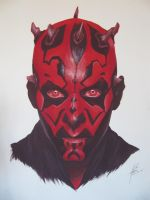 Darth Maul by Mero-LBart
