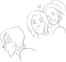 Sabriel doodles by Fang-Chan13