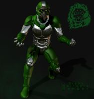 Green Nartopia Ranger by blackzig