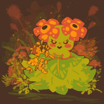 Bellossom by AudGreen