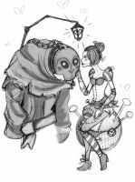 orianna and yorick by kisu-koneko