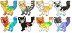 ADOPT BATCH #1 by tropicaladopts